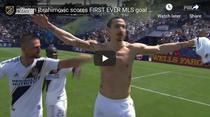 Zlatan Ibrahimovic si golul fantastic reusit pentru Galaxy