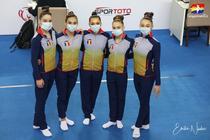 Echipa feminina de gimnastica a Romaniei