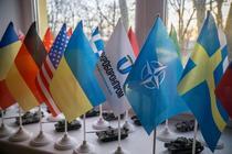 Steagul Suediei alaturi de cel al NATO
