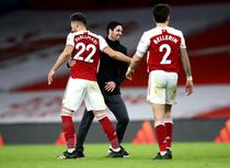 In sfarsit, victorie pentru Arsenal