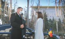 Klaus Iohannis si Maia Sandu, la Chisinau