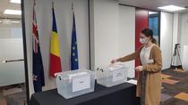 primul vot a fost in sectia din Auckland