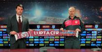 Edward Iordanescu, prezentat oficial la CFR Cluj