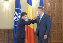 Nicusor Dan si Klaus Iohannis (facebook-sursa foto)