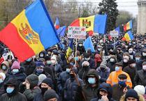 Protest in Republica Moldova