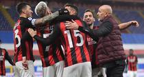 Jucatorii Milanului si bucuria victoriei