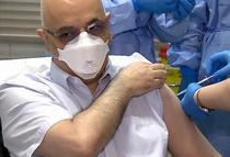 Arafat s-a vaccinat impotriva COVID