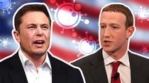 Elon Musk si Mark Zuckerberg