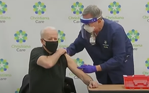 Biden vaccinat cu a doua doza Pfizer