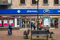 Farmacie din Marea Britanie