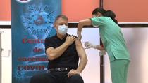 Klaus Iohannis, vaccinat