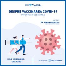 Webinar despre vaccinare