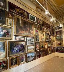 Un stoc de 400 de opere de artă la Palatul Cesianu-Racoviță
