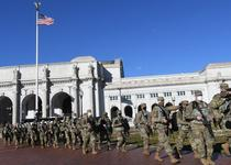 Garda Nationala in Washington D.C.