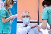 Sorin Cimpeanu s-a vaccinat