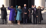 Biden si Harris au ajuns la Capitoliu