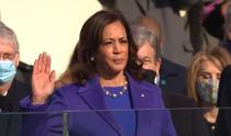Kamala Harris, inaugurare
