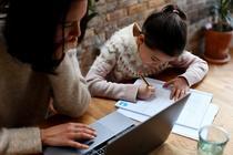 Parintii si scoala online
