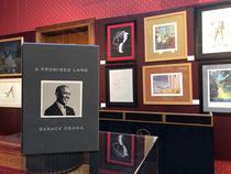 Pământul făgăduinței, de Barack Obama, New York, 2020, exemplar de lux, cu etui și semnătura olografă a autorului
