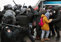Proteste Rusia anti-Putin 23 ianuarie 2021