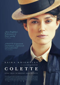 Keira Knightley in Colette (imdb)