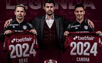 Deac si Camora continua la CFR Cluj
