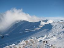In februarie pe munte