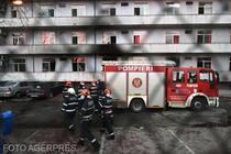 Incendiu la spitalul Matei Bals