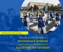 proteste ale sindicatelor din sanatate