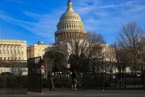 Baricada a Garzii Nationale la Capitoliu