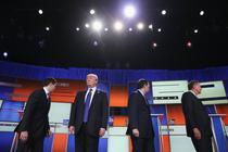 Trump la dezbaterile republicane din 2016
