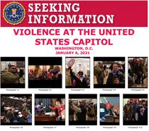 FBI ii cauta pe cei care au luat cu asalt Capitoliul
