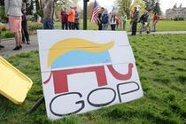 Afis al Partidului Republican