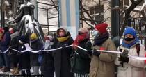Lant uman al femeilor in Rusia