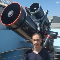 Neagu Gabriel Cristian, elev in clasa a 12-a la Galați
