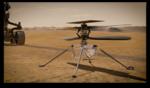 Ilustratie cu elicopterul Ingenuity