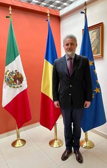 Marius Gabriel Lazurca, ambasadorul desemnat al României în Mexic