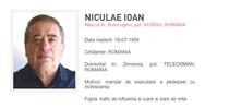 Ioan Niculae dat in urmarire nationala