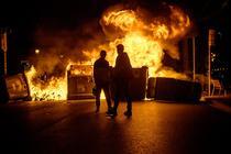 Proteste violente in Spania
