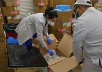 Cutii cu vaccinuri contra Covid-19