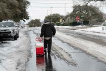Texas, afectat dupa valul de ger