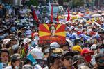 Proteste in Myanmar (sursa: Myanmar Now, twitter)