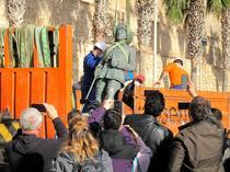 Statuia lui Francisco Franco din Melilla
