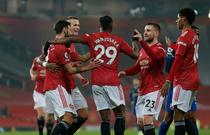 Manchester United si bucuria victoriei