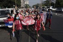 Protest Myanmar