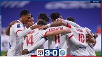 Olympique Lyon, victorie in Ligue 1