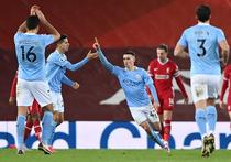 Manchester City, victorie pe Anfield
