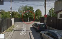 Locul accidentului din Sectorul 2 - Intersectia Fructelor cu Mentiunii