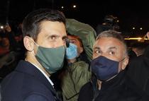 Novak Djokovic si tatal Srdjan