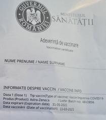 Vaccinare lot ABV2856
